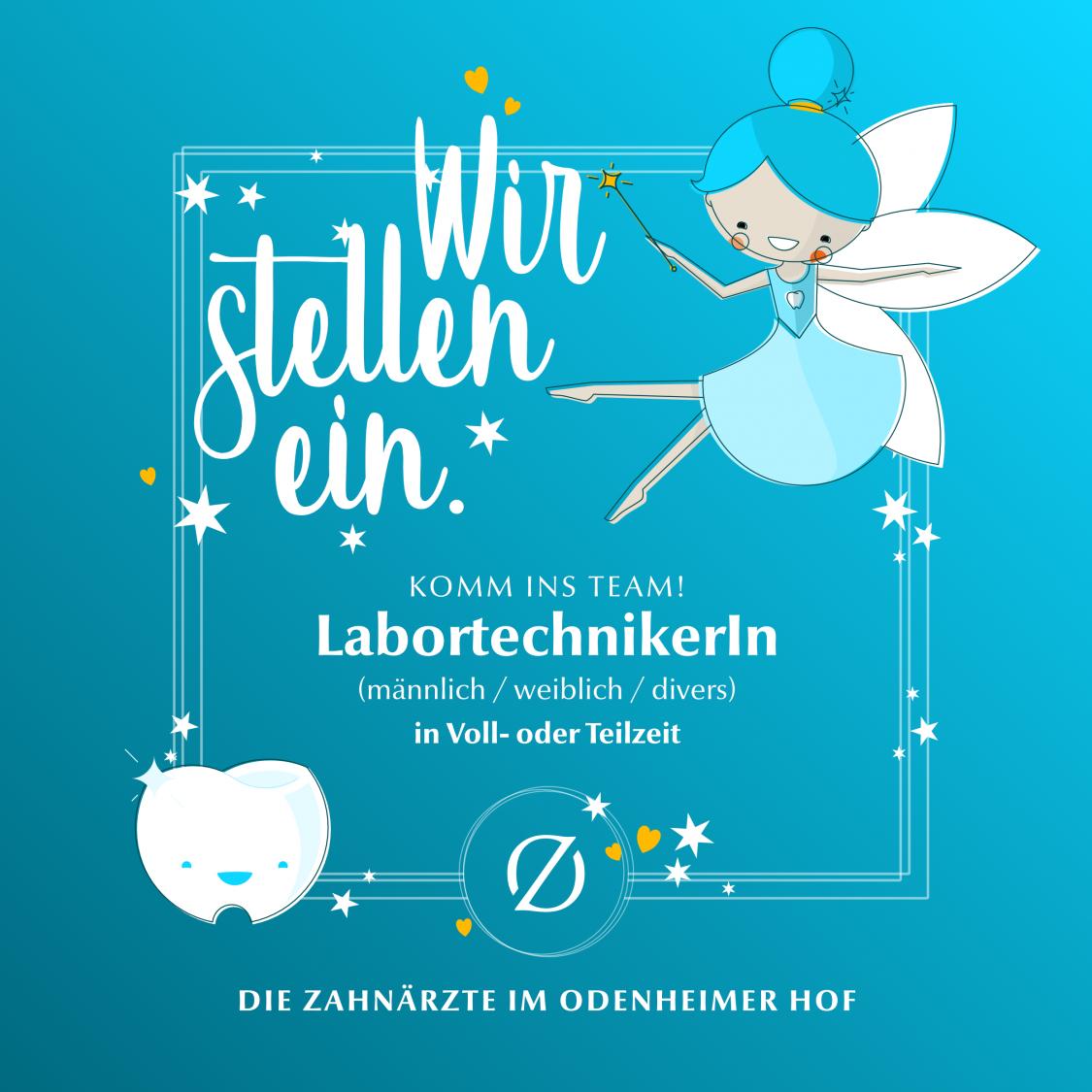 Stellenausschreibung LabortechnikerIn (w/m/d) in Voll- oder Teilzeit – Die Zahnärzte im Odenheimer Hof – Leingarten (Heilbronn) - Dr. Alexander Mitsch M.Sc. & Dr. Jan Felix Hartl M.Sc.