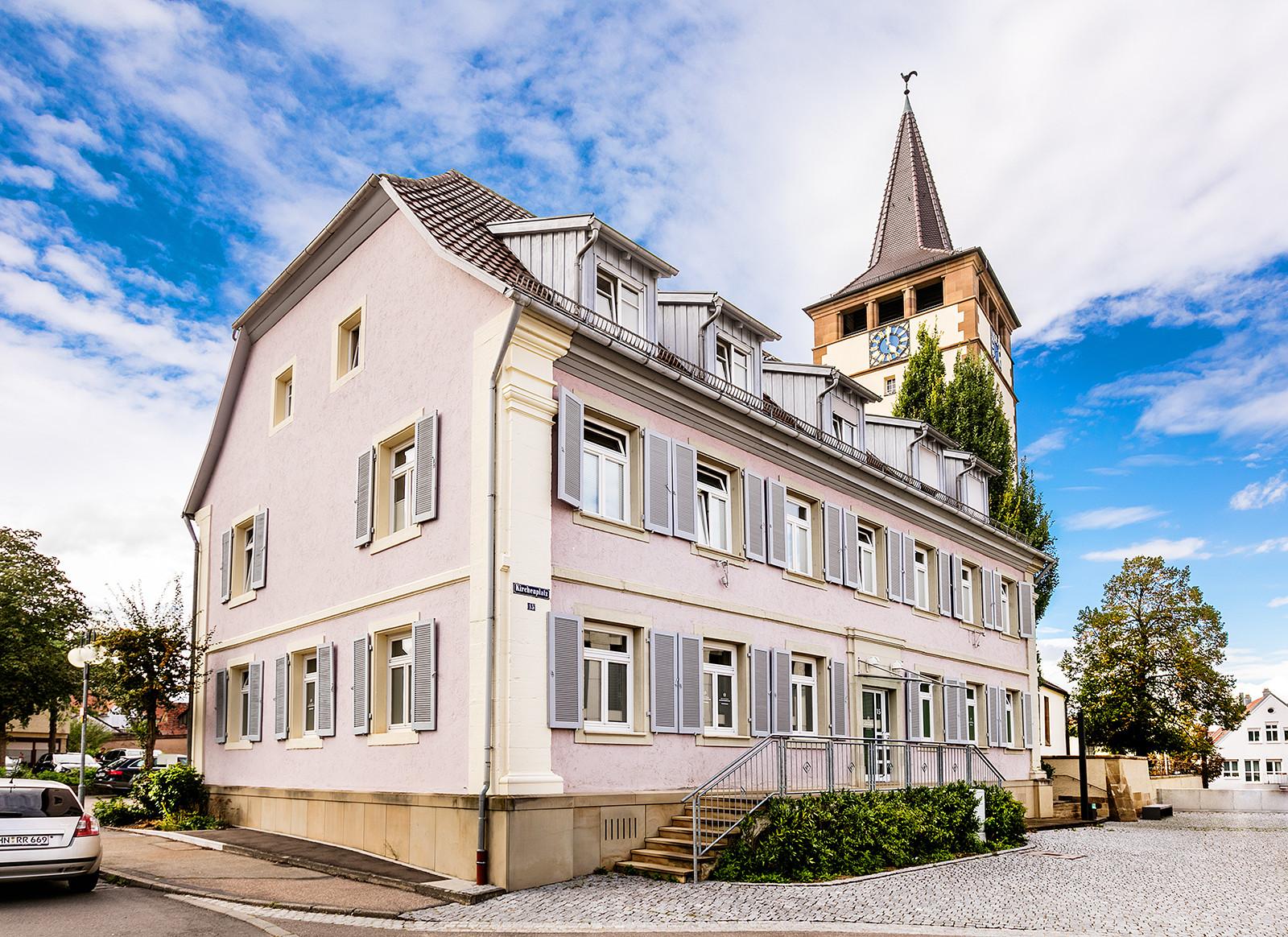 Der Odenheimer Hof – Die Zahnärzte im Odenheimer Hof – Leingarten (Heilbronn) - Dr. Alexander Mitsch M.Sc. & Dr. Jan Felix Hartl M.Sc.