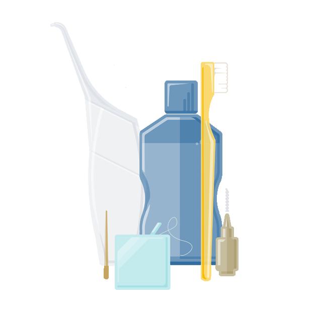 Prophylaxe | Hilfsmittel zur Mundhygiene